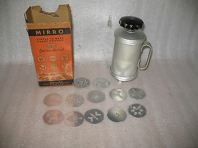 Vintage Mirro Aluminum Cookie Press with Easy Grip  handle  2789-AM