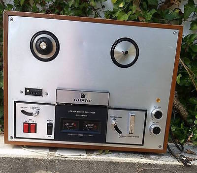 Magnétophone à bande SHARP Track Stereo tape Deck Solid State