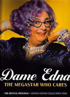 Very Rare Dame Edna The Official Program Limited Edition
