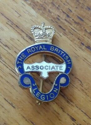 Vintage British Legion Associate  Badge/pin