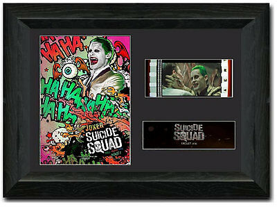 Suicide Squad 35 mm Framed Film Cell Display Stunning Collectible The Joker S3