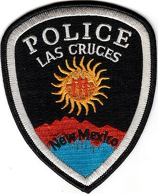 Las Cruces Police Patch New Mexico NEW