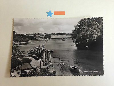 The Helford River Real Photograph Postcard