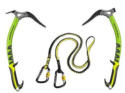 SINGING ROCK BANDIT - 2 versatile ice axes with Bungee for a wide range of use