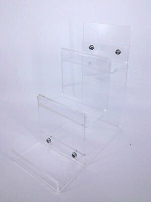 🇬🇧  3 Tier Acrylic Stand Retail Display Stand  Hand Bag Purse Retail Fashion