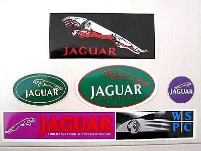 A Collection Of 5 Jaguar Stickers