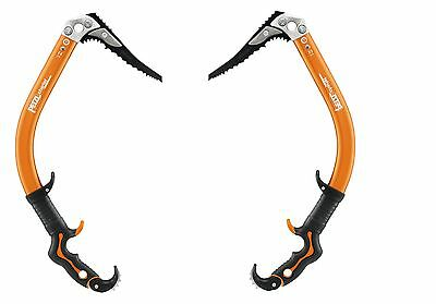 PETZL ERGO AXES U222 - Set of two high-end dry tooling and ice climbing axe