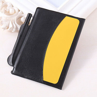 NEW Referee Penalty Red/Yellow Cards Wallet Pencil Notebook Set useful portable