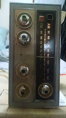 1960's VINTAGE ZENITH SOLID STATE TUNER/STEREO AMPLIFIER WORKING CONDITION