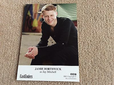 Jamie Borthwick As Jay Mitchell Bbc Eastenders Unsigned Card - Mint Condition