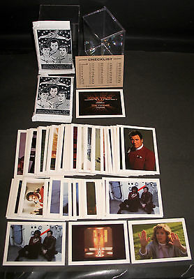 STAR TREK IV VOYAGE HOME FULL SET 60 CARDS NM+ FTCC 1986 INCL's 2 PACKS+10 DBLES