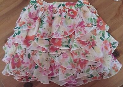 new girls age 3-4 pretty floral skirt