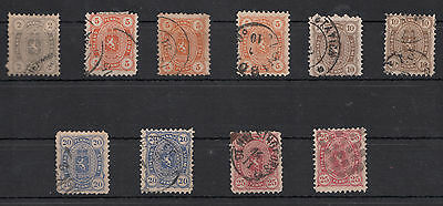 Timbres / stamps Finlande Russe / Finland Russian Empire 1875 issue