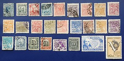 BRAZIL - 1890-1949 Collection of Used & MLH stamps