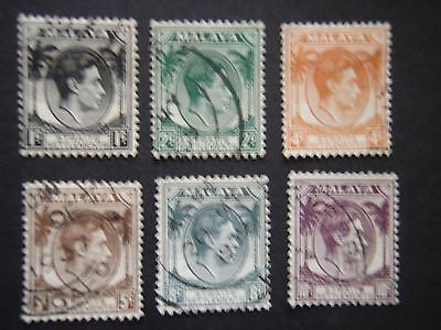 Straits Settlements 1937-41 defs. Selection used