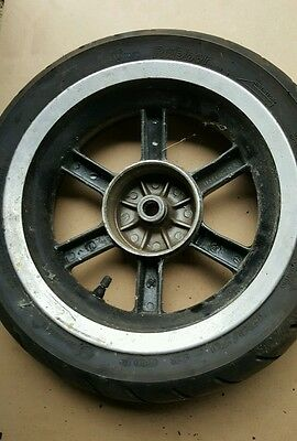 GENERIC RACE EXPLORER 50 50cc 2010 REAR BACK WHEEL AND TYRE 120 70 12 120/70/12