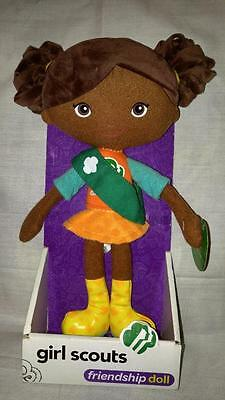 Girl Scout Friendship Doll - Carly - Collectible New Plush