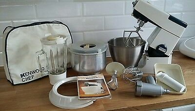 kenwood chef mixer with attachments A701A