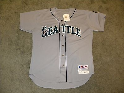 2003 Seattle Mariners Jamal Strong Game Worn Issued Jersey #36