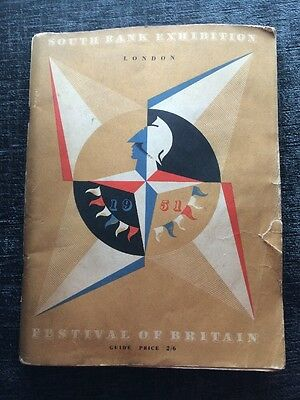 Festival of Britain 1951 South Bank Exibition Guide Book.