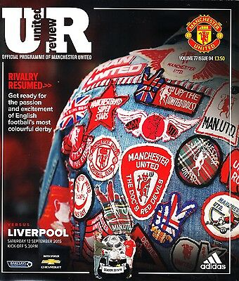 Anthony Martial Signed Manchester United v Liverpool Debut Programme Autograph