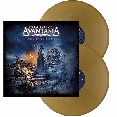 Avantasia - Ghostlights - strictly  limited 2 LP GOLD Vinyl - NEW