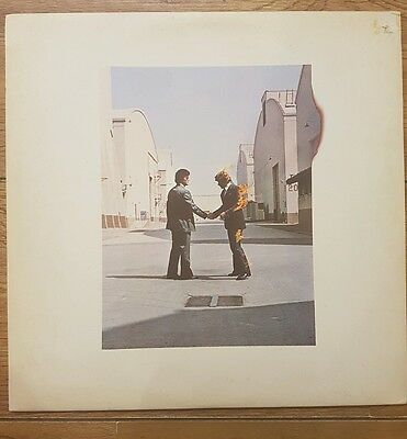 Pink Floyd Wish You Were Here 1st Press Vinyl Record