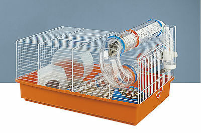 Ferplast Paula Hamster Cage Complete With Tubes