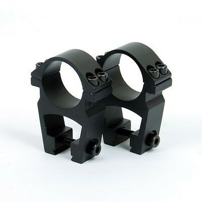 See-Through High Profile 1 inch Rifle Scope Rings for Dovetail Rail