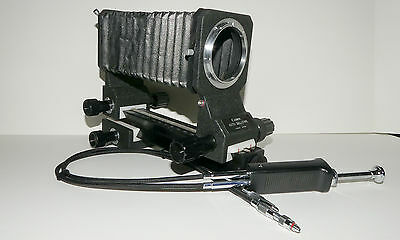 CANON AUTO BELLOWS FD + DOUBLE CABLE RELEASE for MACRO / CLOSE-UP.