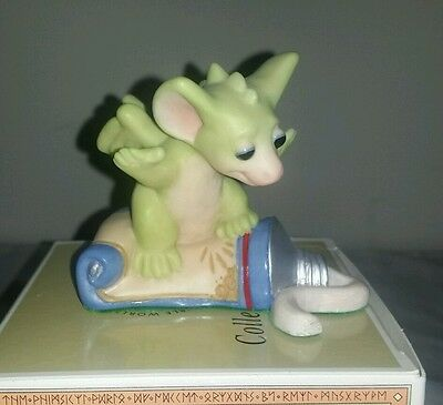 The Whimsical World of Pocket Dragons Squish! Toothpaste Surfer figurine dentist