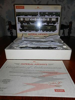 """Hornby """"IMPERIAL AIRWAYS"""" train pack DCC fitted"""