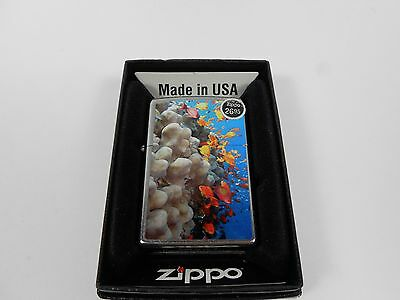 Zippo Coral Reef Tropical Fish Ocean FACTORY SEALED 2010 NEW Zippo Lighter