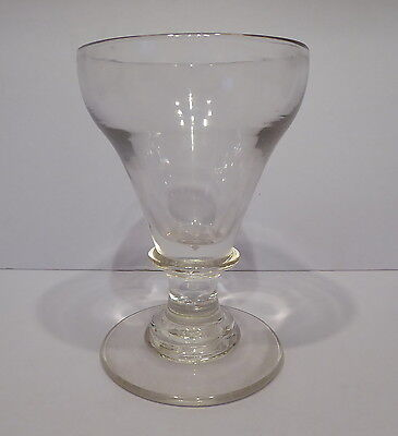 Antique 19th Century English Glass Rummer