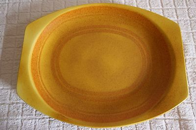 Meakin Orange/Yellow Maidstone Marigold Platter Plate Rare Collectable 1970's