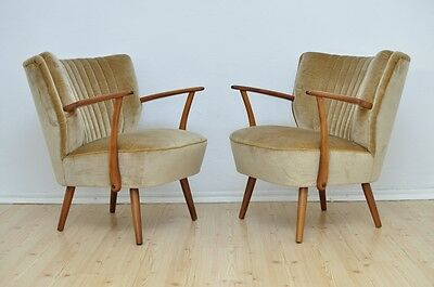 Vintage DDR Club Cocktail Armchair MODERN Design Mid Century Chair