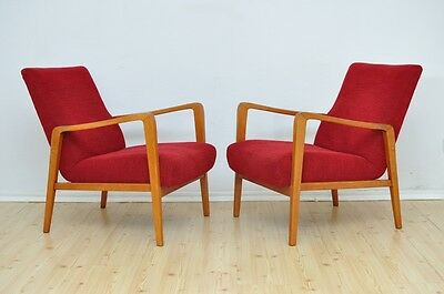 Pair of Vintage Armchairs MODERN Design Mid Century Chairs