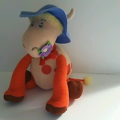 RARE MAGIC ROUNDABOUT TALK'n'SING ERMITRUDE  THE COW PLUSH SOFT TOY