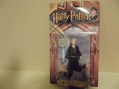 Harry Potter Sorcerer's Stone Remembrall Malfoy Action Figure NIB 2001