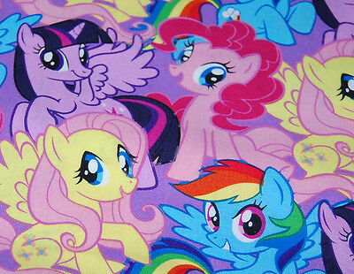New Handmade  My Little Pony  Travel / Toddler/ Cuddle Pillow