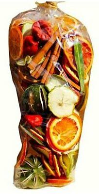 Christmas Fragrance Scented Pot Pourri Gift Bag 350g: Dried Fruits, Chillies and