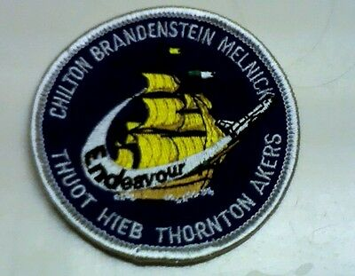 Space shuttle Endeavour NASA sts49  patch rare STS 49