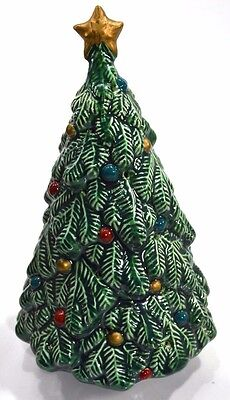 Christmas Decorations Avon Gift Collection Porcelain Fragrance Christmas Tree