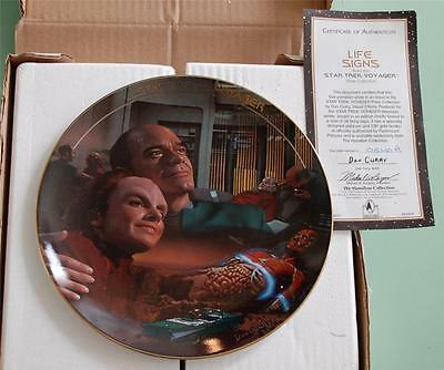 Life Signs - Star Trek Voyager Hamilton Collection Plate