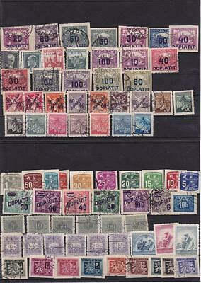 Czechoslovakia Stamp Stamps Old