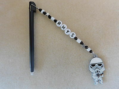 Personalised DSi DS Lite Stylus / Pen with charm Stormtrooper