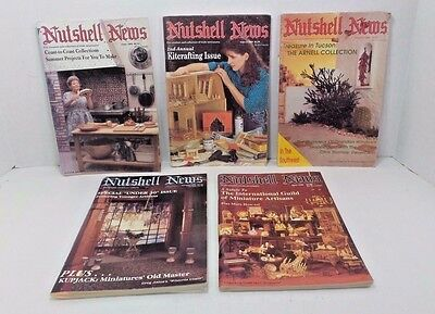 Dollhouse Magazine Vintage Lot