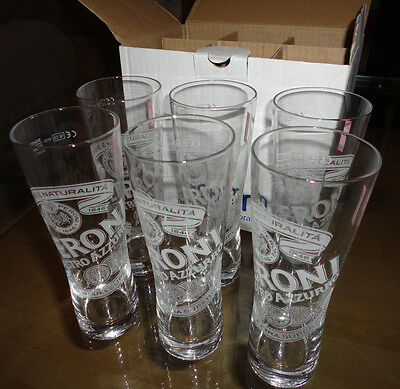 Set of x6 Half Pint (0.25L) Beer glasses. Exclusive Toronto Tumblers. Boxed.
