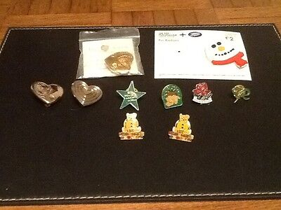 Selection Of  charity  pin lapel badges