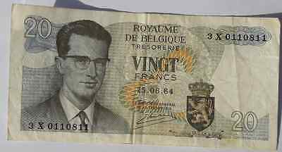 Banknote 20 Fr 1964 Collectable